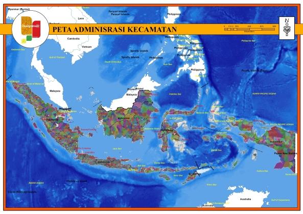 ADMINISRASI KECAMATAN INDONESIA